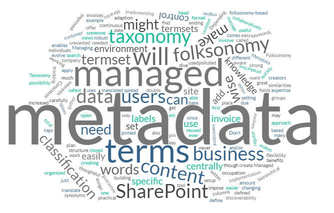 Managed metadata in SharePoint