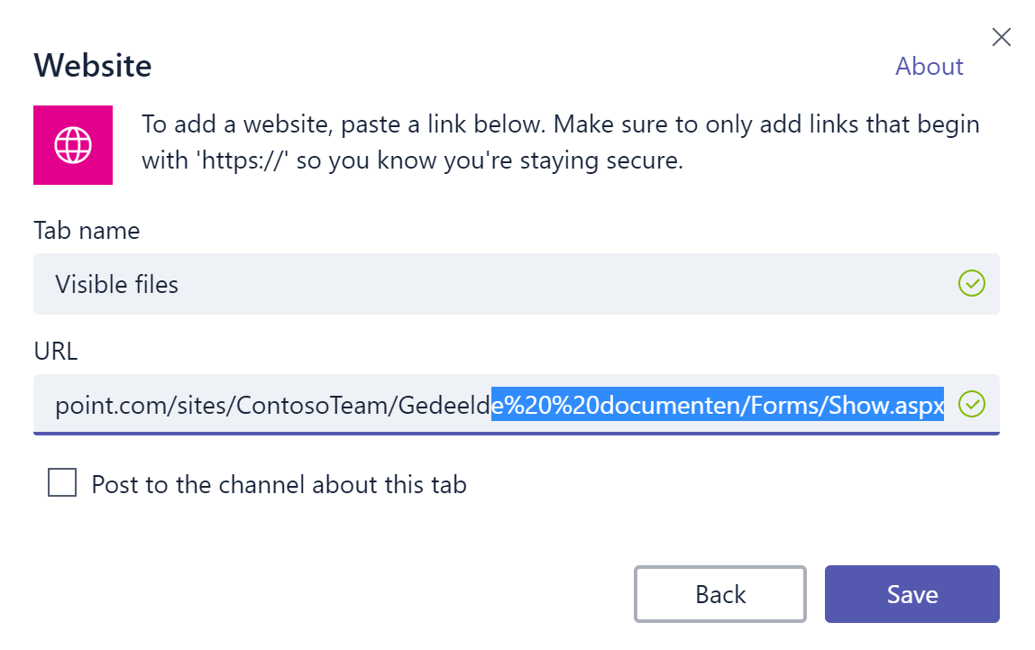 Microsoft Teams has no document metadata, no problem
