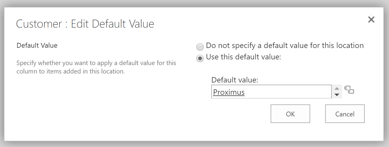 SharePoint Online document library default metadata values